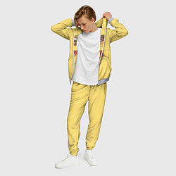 Костюм мужской Pikachu цвета 3D-меланж — фото 2