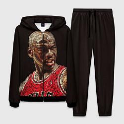 Костюм мужской Michael Jordan цвета 3D-черный — фото 1