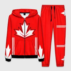 Костюм мужской Сборная Канады: домашняя форма цвета 3D-черный — фото 1