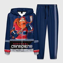 Костюм мужской Montreal Canadiens цвета 3D-меланж — фото 1