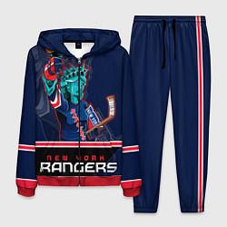 Костюм мужской New York Rangers цвета 3D-красный — фото 1