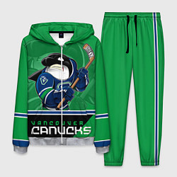 Костюм мужской Vancouver Canucks цвета 3D-меланж — фото 1