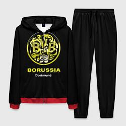 Костюм мужской Borussia Dortmund цвета 3D-красный — фото 1