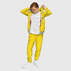 Костюм мужской Гомер-болельщик цвета 3D-меланж — фото 2