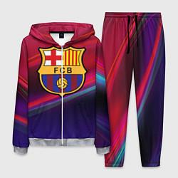 Костюм мужской ФК Барселона цвета 3D-меланж — фото 1