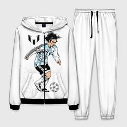 Костюм мужской Messi Young цвета 3D-черный — фото 1