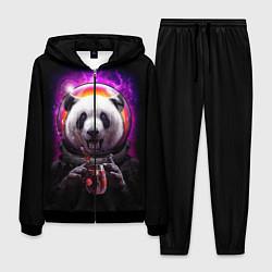 Костюм мужской Panda Cosmonaut цвета 3D-черный — фото 1