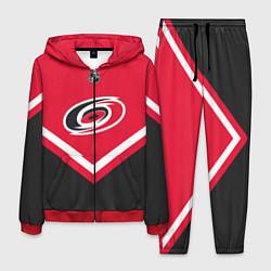 Костюм мужской NHL: Carolina Hurricanes цвета 3D-красный — фото 1