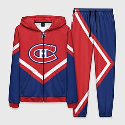Костюм мужской NHL: Montreal Canadiens цвета 3D-красный — фото 1
