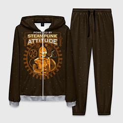 Костюм мужской Steampunk Attitude цвета 3D-меланж — фото 1