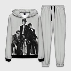 Костюм мужской BTS Grey цвета 3D-черный — фото 1