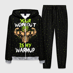 Костюм мужской My Workout цвета 3D-меланж — фото 1