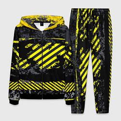 Костюм мужской Grunge Line цвета 3D-черный — фото 1