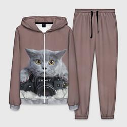 Костюм мужской Котик фотограф цвета 3D-меланж — фото 1