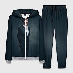 Костюм мужской Шерлок цвета 3D-меланж — фото 1
