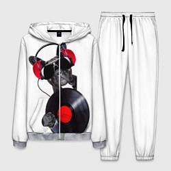 Костюм мужской DJ бульдог цвета 3D-меланж — фото 1