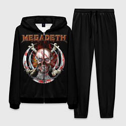 Костюм мужской Megadeth: Skull in chains цвета 3D-черный — фото 1