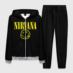 Костюм мужской Nirvana Rock цвета 3D-меланж — фото 1