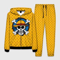 Костюм мужской One Pirate цвета 3D-черный — фото 1