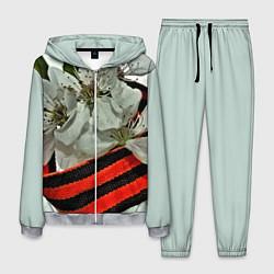 Костюм мужской Георгиевская лента цвета 3D-меланж — фото 1