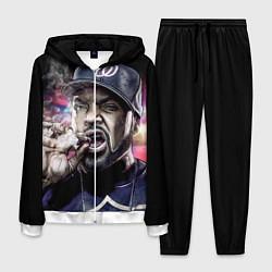 Костюм мужской Ice Cube: Big boss цвета 3D-белый — фото 1
