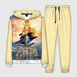 Костюм мужской The Legend of Zelda цвета 3D-белый — фото 1
