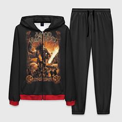 Костюм мужской Amon Amarth: Dark warrior цвета 3D-красный — фото 1