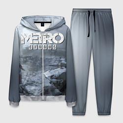 Костюм мужской Metro Exodus: Cold Winter цвета 3D-меланж — фото 1
