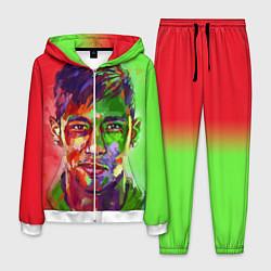 Костюм мужской Neymar Art цвета 3D-белый — фото 1
