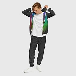 Костюм мужской Coldplay Colour цвета 3D-белый — фото 2