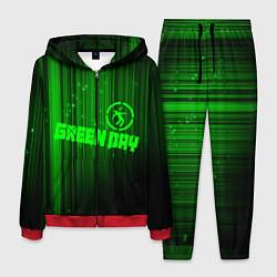 Костюм мужской Green Day лучи цвета 3D-красный — фото 1
