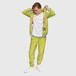 Костюм мужской Hipster Fox цвета 3D-меланж — фото 2