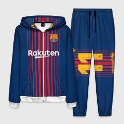 Костюм мужской Barcelona FC: Neymar Home 17/18 цвета 3D-белый — фото 1
