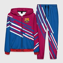 Костюм мужской Barcelona FC: Sport Line 2018 цвета 3D-красный — фото 1