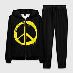 Костюм мужской Peace цвета 3D-черный — фото 1