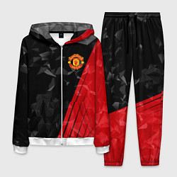Костюм мужской FC Manchester United: Abstract цвета 3D-белый — фото 1