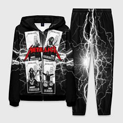 Костюм мужской Metallica Band цвета 3D-черный — фото 1