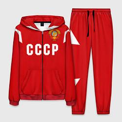 Костюм мужской Сборная СССР 1988 цвета 3D-красный — фото 1