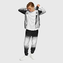 Костюм мужской FC Juventus: Silver Original цвета 3D-белый — фото 2