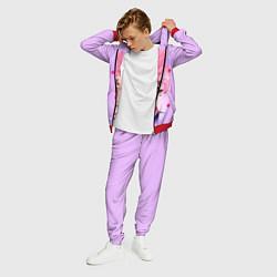 Костюм мужской Lil Peep: Pink Edition цвета 3D-красный — фото 2