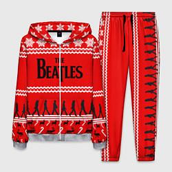 Костюм мужской The Beatles: New Year цвета 3D-меланж — фото 1