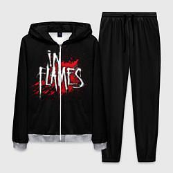 Костюм мужской In Flames цвета 3D-меланж — фото 1