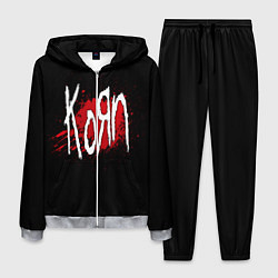 Костюм мужской Korn: Blood цвета 3D-меланж — фото 1