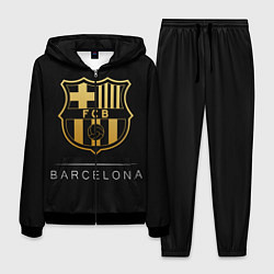 Костюм мужской Barcelona Gold Edition цвета 3D-черный — фото 1