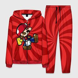 Костюм мужской Super Mario: Red Illusion цвета 3D-красный — фото 1