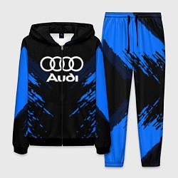 Костюм мужской Audi: Blue Anger цвета 3D-черный — фото 1