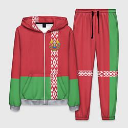 Костюм мужской Беларусь цвета 3D-меланж — фото 1