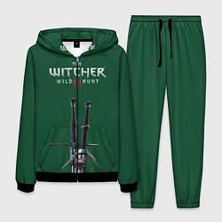 Костюм мужской The Witcher: Wild Hunt цвета 3D-черный — фото 1
