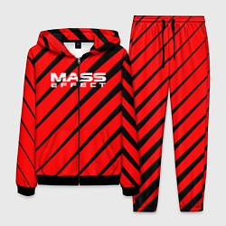 Костюм мужской Mass Effect: Red Style цвета 3D-черный — фото 1