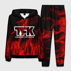 Костюм мужской Thousand Foot Krutch: Red Flame цвета 3D-черный — фото 1